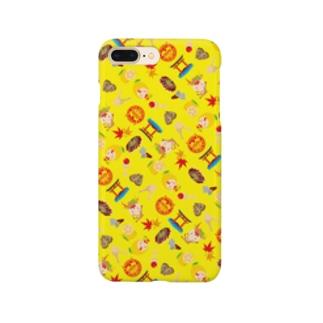 みやじかくん(パターン/Y) Smartphone cases