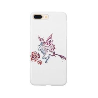 むの蝶々 Smartphone cases