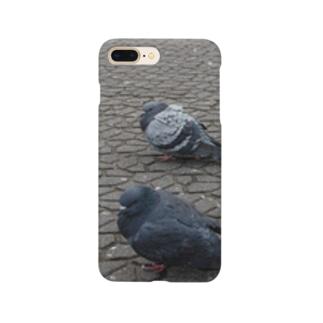 ・・・(ハト) Smartphone cases