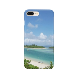 石垣島川平湾 Smartphone cases