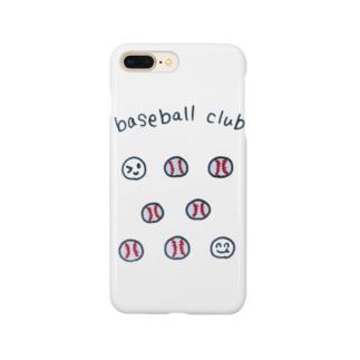 ベースボールクラブ Smartphone cases