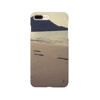 夏の足跡 Smartphone cases