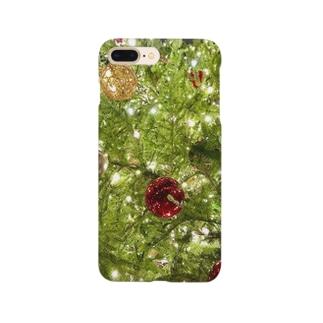 冬のウッド Smartphone cases