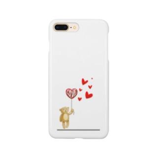 くまー! Smartphone cases