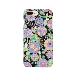 キラキラの草花 Smartphone cases