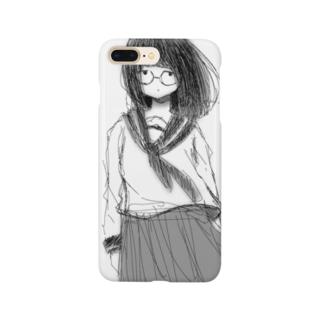 地味っ子 Smartphone cases