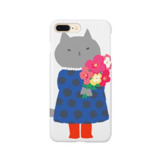子猫のドット Smartphone cases