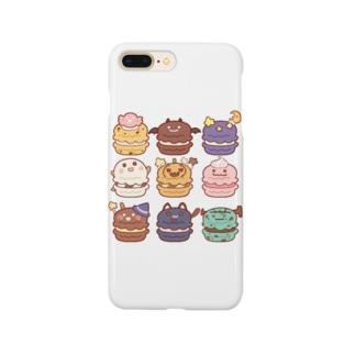 ハロウィンマカロン Smartphone cases