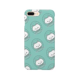 ねこにこばん(みどり) Smartphone cases