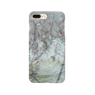 肌触り Smartphone cases