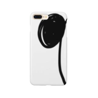 ちらりパンダ Smartphone cases