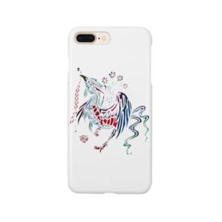 むの鳥 Smartphone cases