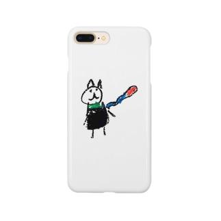 娘マフちゃん Smartphone cases