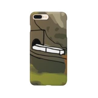 鳴子峡から覗く鉄道 Smartphone cases