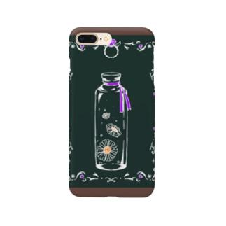 マーガレットとアメジスト Smartphone cases