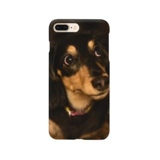 見開きライク君 Smartphone cases