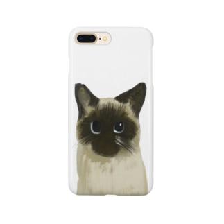 たぬしゃむグッズ Smartphone cases