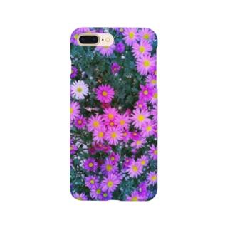 花(サイズ怒られたVer.) Smartphone cases