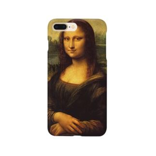 名画「モナ・リザ」 Smartphone cases