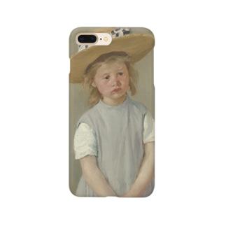 メアリー・カサット作「麦わら帽子をかぶった少女」 Smartphone cases