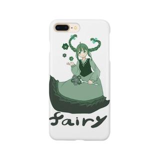 緑の妖精 Smartphone cases