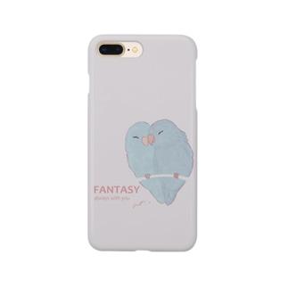 マメルリハちゃん Smartphone cases