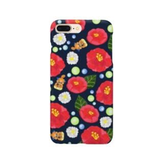 いしぽんとさざんか Smartphone cases