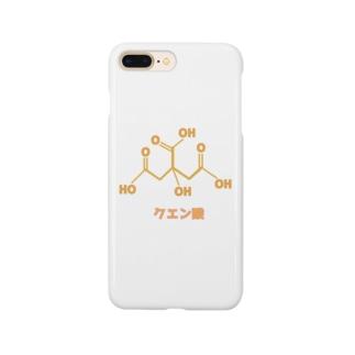 理系 クエン酸 Smartphone cases