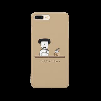 そろり屋のコーヒー女子 Smartphone cases
