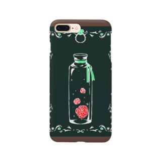 カーネーションとエメラルド Smartphone cases