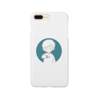時計くん Smartphone cases