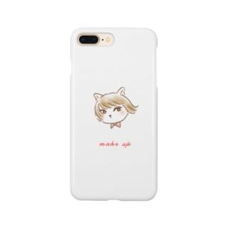 お洒落したい猫 Smartphone cases