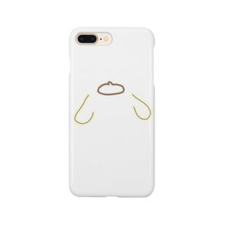 ポムポム顔なし Smartphone cases