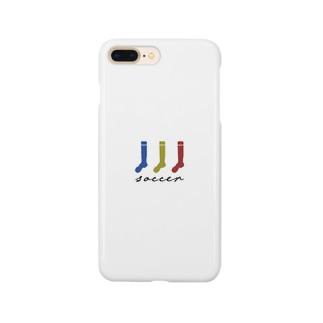 サッカーソックス Smartphone cases