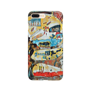 地面の世界 Smartphone cases