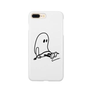 DAY OFFおばけちゃん[mono] Smartphone cases