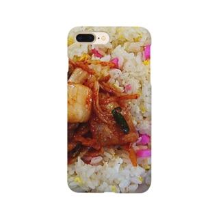 キムチチャーハン(大好き) Smartphone cases