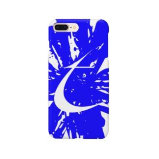 Brush Logo Blue Smartphone cases