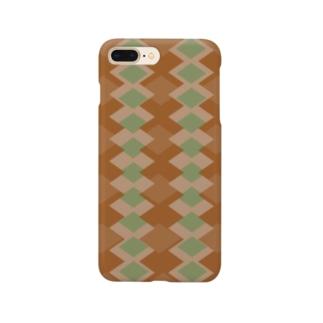 算盤~抹茶~ Smartphone cases