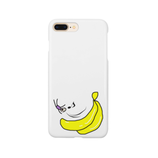 dashimakimakiのバナナ滑り台ヤッホー Smartphone cases