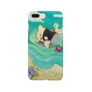 フローティングキャット Smartphone cases