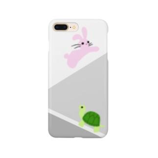 ウサギちゃん・カメちゃん Smartphone cases