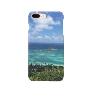 ハワイ カイルアの絶景 Smartphone cases