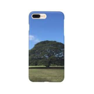 ハワイ モンキーポッド Smartphone cases