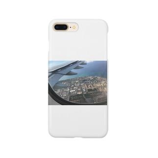 NATSUKO-SHOPの飛行機の窓から Smartphone cases