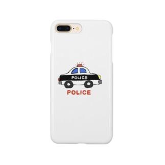 パトカー Smartphone cases