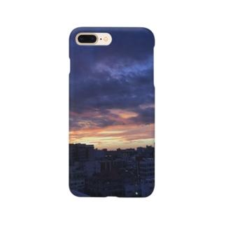 夕焼け小焼けT Smartphone cases
