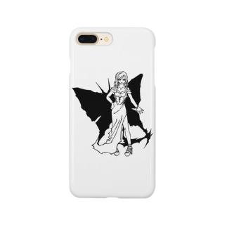 夜ノ蝶 Smartphone cases