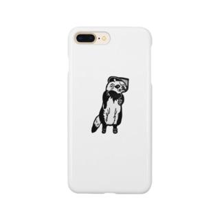 そば屋タヌキくん Smartphone cases