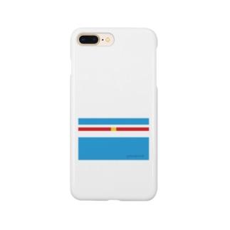 ドラな横縞 Smartphone cases